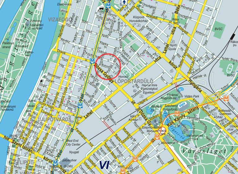 budapest ferenciek tere térkép Nőgyógyász Budapest 13 kerület. Térkép. budapest ferenciek tere térkép